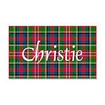 Tartan - Christie 20x12 Wall Decal
