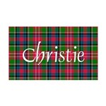 Tartan - Christie 35x21 Wall Decal