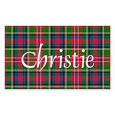 Tartan - Christie Decal