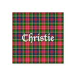 Tartan - Christie Square Sticker 3