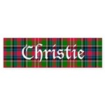 Tartan - Christie Sticker (Bumper)
