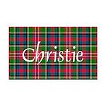 Tartan - Christie Rectangle Car Magnet