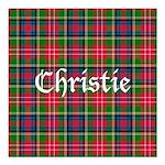 Tartan - Christie Square Car Magnet 3