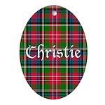 Tartan - Christie Ornament (Oval)