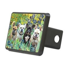 Cute Brown dog Hitch Cover