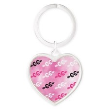 Cross Country PINK Keychains