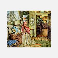 Grimshaw: Summer (1875) Throw Blanket