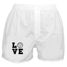 Volleyball love Boxer Shorts