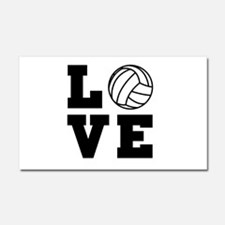 Volleyball love Car Magnet 20 x 12