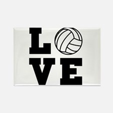 Volleyball love Magnets