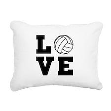 Volleyball love Rectangular Canvas Pillow