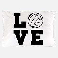 Volleyball love Pillow Case