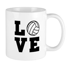 Volleyball love Mugs