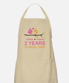 Two Years Of Happy Union Apron