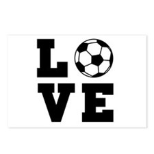 Soccer love Postcards (Package of 8)