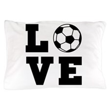 Soccer love Pillow Case