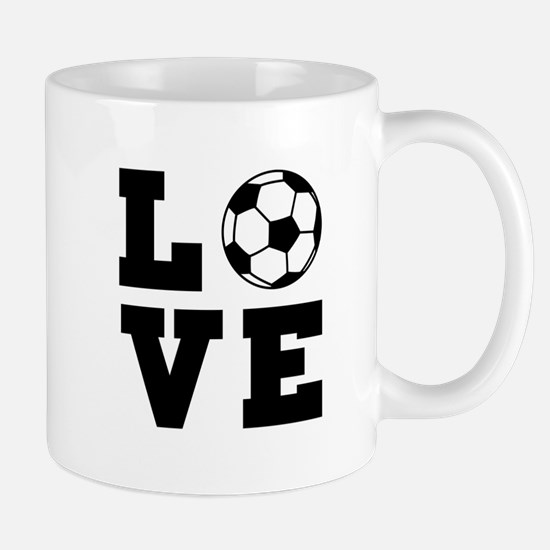 Soccer love Mugs