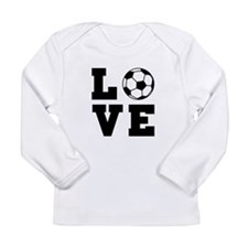 Soccer love Long Sleeve T-Shirt