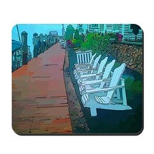 Dock Side Chairs Mousepad