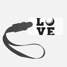 Golf love Luggage Tag