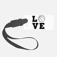 Basketball love Luggage Tag