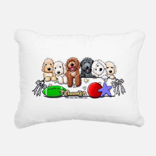 McDoodles Nursery Rectangular Canvas Pillow