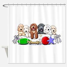 McDoodles Nursery Shower Curtain