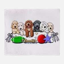 McDoodles Nursery Throw Blanket