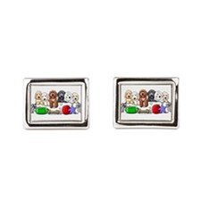McDoodles Nursery Rectangular Cufflinks