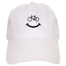 Bicycle smile Baseball Cap