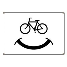 Bicycle smile Banner