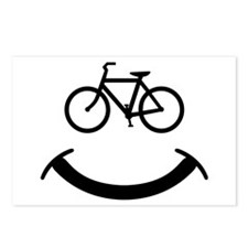 Bicycle smile Postcards (Package of 8)