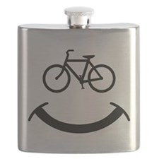 Bicycle smile Flask