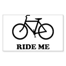 Bike ride me Decal
