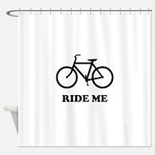 Bike ride me Shower Curtain