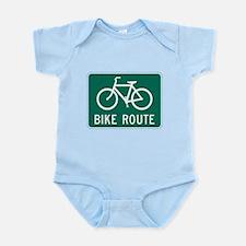 Bike route Body Suit