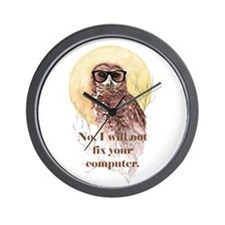 I will not fix your computer Geek Owl in Glasses W