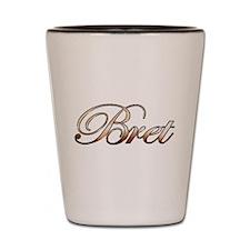 Bret Shot Glass
