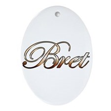 Bret Ornament (Oval)