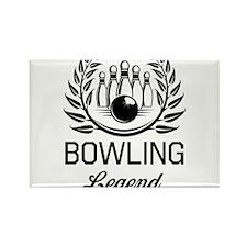 Bowling legend Magnets