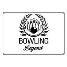 Bowling legend Banner