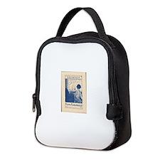 Unique Bookplate Neoprene Lunch Bag