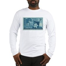 Texas Stamp Long Sleeve T-Shirt