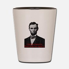 Abraham Lincoln's American Pride Shot Glass