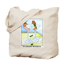 Cocktail Wieners Tote Bag