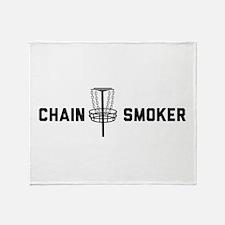 Chain smoker Throw Blanket