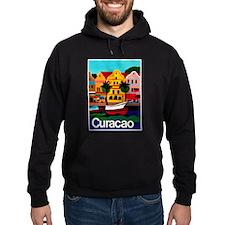 Curacao; Travel Vintage Poster Hoodie