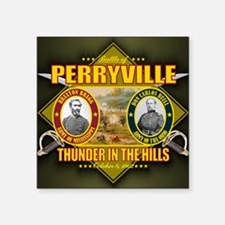 "Perryville Square Sticker 3"" x 3"""