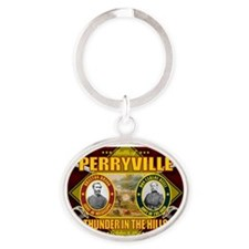 Perryville Oval Keychain