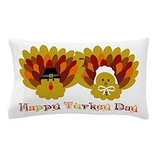 Happy Turkey Day Pillow Case